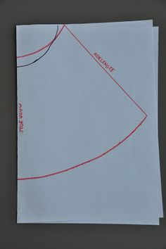 emma en mona: Handleiding A-lijnrokje