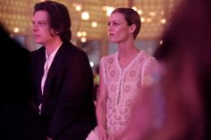 Benjamin Biolay et Vanessa Paradis au défilé Chanel Croisière 2014 à Dubaï le 13 mai 2014