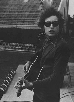 Bob Dylan @ Forest Hills Tennis Stadium New York City, New York 28 August 1965