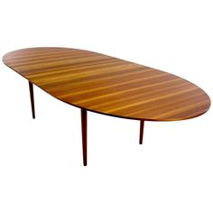"Danish Modern ""Judas"" Teak Dining Table Designed by Finn Juhl 