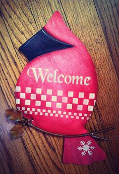 Welcome Bird on Etsy, $9.50