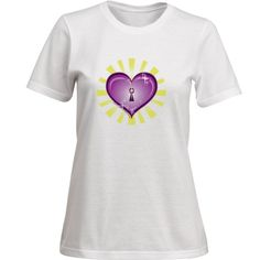 """""""Heart Lock,"""" T  $39.99  Short Sleeve Crew Neck T-Shirt 100% Ring-Spun Combed Cotton 4.5 ounce Ultra Soft Cotton T  Color:  WHITE, BLACK  Sizes: Men's, Woman's, or Children's Sizes.  Specify sizing with order.  Recommended: Buy one size bigger.  MEN:  S,M,L,XL,XXL       WOMEN:  S (8-10), M (8-10), L (12-14), XL (16-18), XXL (20-22)      CHILDREN:  XS (2-4), S (6-8), M (10-12),  L (14-16), XL (18-20)  Find this shirt @ angelwingz_star_designz."""