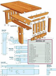 #2022 Mission Coffee Table Plans - Furniture Plans