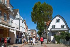 M. Werner (F1 Online) - Belfry in the pedestrian area, Wyk, Foehr, Germany - Photo Print order now at low prices!