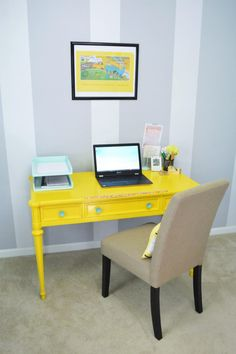 desk home office 2017. How I Keep My Desk Clear Of Clutter With A DIY Office Organization Project. Home 2017 R