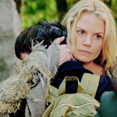 I loved this moment of Emma comforting Henry but reminding Regina what she just promised to do