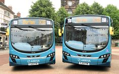Arriva Midlands has launched three new Wrightbus bodied VDL SB200 single deckers onto its Burton on Trent and Derby services. Representing an investment of £450,000, the buses each feature free Wi-Fi, CCTV and E-leather trimmed seats. Two of the vehicles will be utilised on the X38 route, a direct service between Burton on Trent and … Bus Coach, Mode Of Transport, Coaches, Wi Fi, Trains, Innovation, Product Launch, Future, Vehicles
