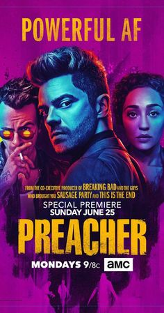 Created by Sam Catlin, Evan Goldberg, Seth Rogen.  With Dominic Cooper, Joseph Gilgun, Ruth Negga, Ian Colletti. After a supernatural event at his church, a preacher enlists the help of a vampire to find God.