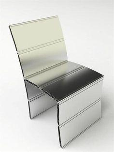 Exta Chair, an Aluminium Chair by Tarazi Design Studio   Polo's Furniture
