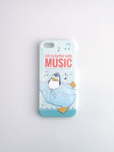 Phone Case - Life is better with music