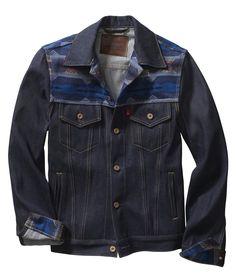 Levis Workwear by Pendleton Western Trucker jacket