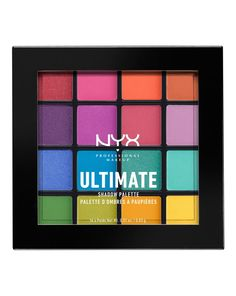 Ultimate Shadow Palette - Brights by NYX Professional Makeup