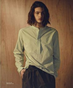 Styles of the Understated: Erin Mommsen Stars in Essential Homme - Androgynous