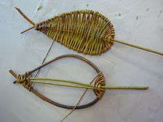 Two Red Threads: Willow Trellises -- Functional And Fun