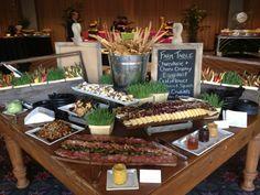 Farm Table, Garces Catering, Food Station, Jose Garces, http://grg-mgmt.com/