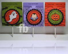 Halloween lollipop holders