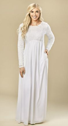 3d971f28d0b0 30+ Stunning Temple Dresses Any Latter-day Saint Woman Would Love to Wear