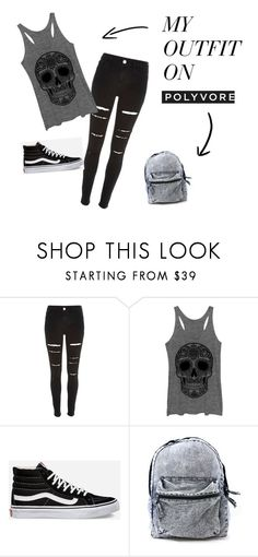 """""""Simplemente Yo!!"""" by ximenaalboranista on Polyvore featuring River Island and Vans"""