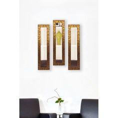 Rayne Safari Bronze Mirror Panel, Set of 3