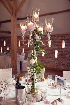 Pink and Pretty Floral centerpieces