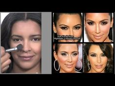 Step by Step Makeup Tutorial by Celebrity Beauty Expert Daniel Chinchilla!! Kim Kardashian Highlight and Contour. Learn how to do them on yourself in easy steps using powders. Flawless finish to your foundation makeup