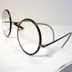 1920s Authentic Windsor Eye Glasses Signed Tortoise by MisterBibs