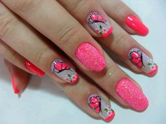 32 Simple And Cute Nail Art Designs