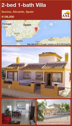 2-bed 1-bath Villa in Sucina, Alicante, Spain ►€138,000 #PropertyForSaleInSpain