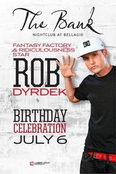 4b53b4fcd6 Rob Dyrdek Birthday Celebration