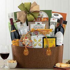 Wine Gift Baskets - Gourmet Wine Gift Basket