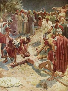 The Lamb of God who, by His sacrifice, takes away the sins of any who come to Him.