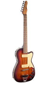 """BootLegger Guitar """"The Rye"""" Brown Vintage Sunburst"""