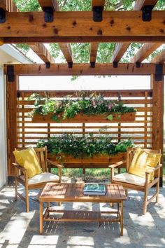 Top 60 Best Pergola Ideas - Backyard Splendor In The Shade Pergola Attached To House, Patio Design, Easy Garden, Casual Outdoor Furniture