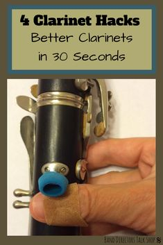 4 Clarinet Hacks - Better Clarinets in 30 Seconds - Band Directors Talk Shop Middle School Music, High School Band, Music Lesson Plans, Music Lessons, Best Essay Writing Service, Band Director, Music Worksheets, Music Classroom, Future Classroom