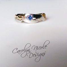 Avenger's Engagement Ring (Loki Staff) by Carolyn Nicole