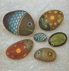 Piedras decoradas   Piedras decoradas   Pinterest