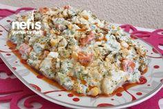 Cauliflower Broccoli Salad with Yogurt – Yummy Recipes – # 3013866 - Fleisch Yummy Recipes, Salad Recipes, Yummy Food, Healthy Recipes, Turkish Recipes, Ethnic Recipes, Broccoli Salad, Broccoli Cauliflower, Eating Clean