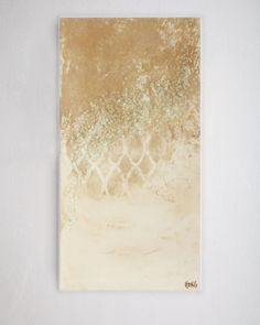 """Bronze Wall I"" Giclee"