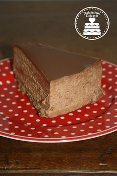 Chocolate Cheesecake - Cheesecake fredda al cioccolato Cheesecakes, Italian Recipes, Barbie, Favorite Recipes, Sweet, Desserts, Food, Fashion, Candy