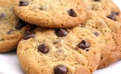 Dolci senza burro: biscotti alla farina di riso e gocce di cioccolato! - LEITV
