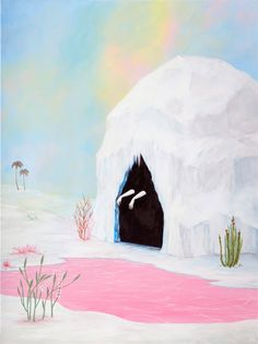 'Lady of the Pink Lake' (2014) by Rebecca Chaperon