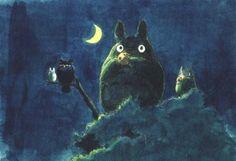 L'art de Mon voisinTotoro: Merci Miyazaki