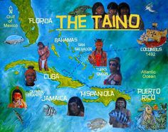 ☀ Puerto Rico ☀The taino history The Taínos were farmers and fishers, and practiced intensive root crop cultivation in conucos, or small raised plots. San Salvador, Greater Antilles, Puerto Rico History, Jamaica History, Puerto Rican Culture, Puerto Rican Recipes, Bahamas, Puerto Ricans, My Heritage