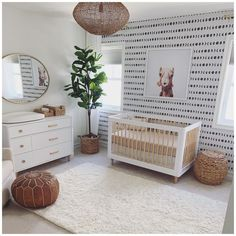 Get everything you need with the Babyletto Lolly crib! This convertible crib with toddler bed conversion kit is a playful yet modern nursery option. Baby Boy Rooms, Baby Boy Nurseries, Baby Cribs, Gender Neutral Nurseries, Baby Boy Nursey, Unisex Baby Room, Modern Nurseries, Small Nurseries, Baby Girl Bedding