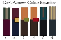 The 12 Colour Equations - 12 Blueprints