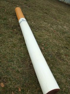 could always take a PVC pipe and paint the end: easy decoration or prop to use in a game