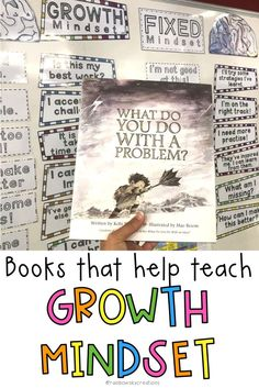 Here are 3 picture books that you can use to begin to explain and demonstrate wh. - Real Time - Diet, Exercise, Fitness, Finance You for Healthy articles ideas Growth Mindset Book, Growth Mindset Classroom, Growth Mindset Activities, Primary Classroom, Future Classroom, Classroom Activities, Classroom Ideas, 3 Picture, Picture Books