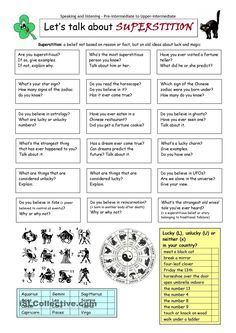 This worksheet contains 18 conversation cards, a question box and a matching exercise. The cards can be cut out if desired and be used as conversation questions. Can be used with both young learners and adults (pre-intermediate to upper-intermediate). English Games, English Activities, English Fun, English Class, English Lessons, Teaching English, Learn English, Conversation Questions, Conversation Topics