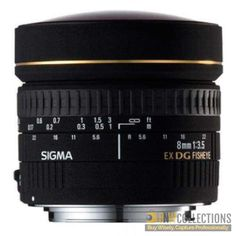 Buy Sigma 8mm 3.5 EX DG CIRCULAR FISHEYE At Rs.80,500 Highlights :- Circular Fisheye lens with unique perspective, 180 degrees angle of view for exaggerated close ups Delivery Available In All Over Pakistan Hassle FREE To Returns Contact # (+92) 03-111-111-269 (BnW) Email :- info@bnwcollections.com #BnWCollections #Sigma #Camera #Lens