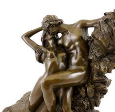 Bronze-Skulptur - Der ewige Frühling - (1884), Auguste Rodin
